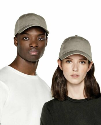 Models Wearing Continental N85 Organic Baseball Caps