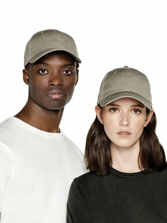 Models Wearing Continental N85 Organic Baseball Caps