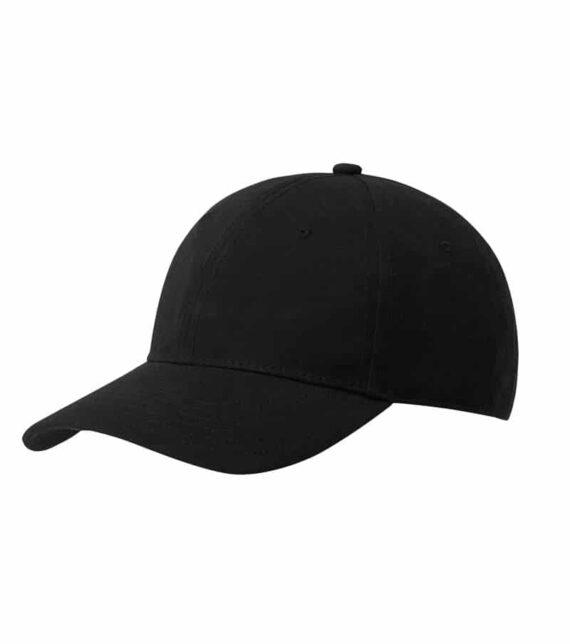 Black Continental N85 Organic Baseball Caps