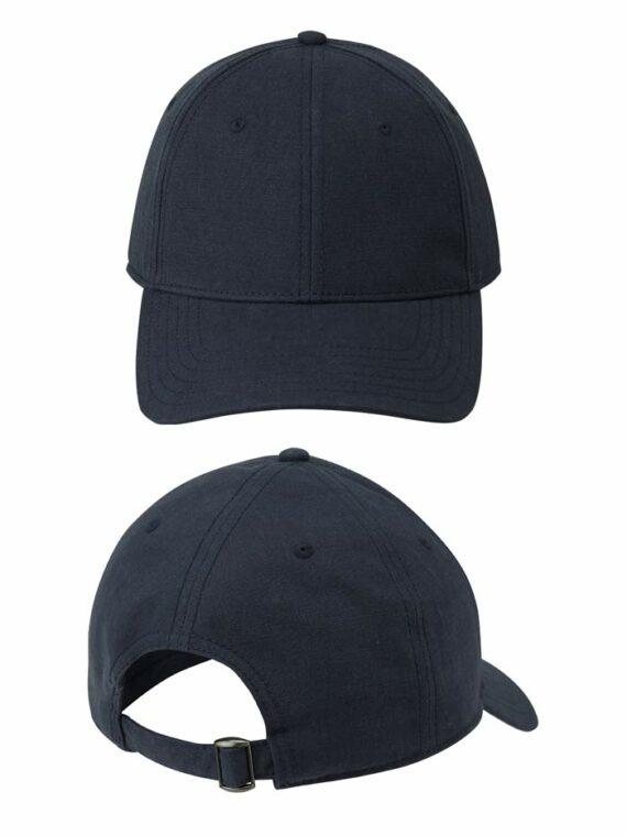 Navy Continental N85 Organic Baseball Caps