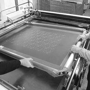 Large Format Screen Printing Frame