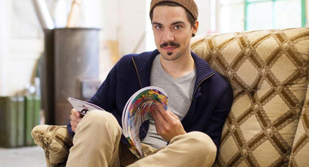 Portrait of Artist Bene Rohlmann