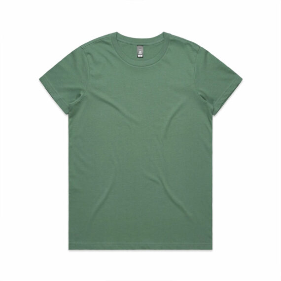 AS Colour 4001 Women's Maple Tee Sage Front