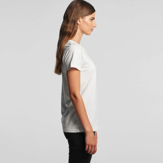 AS Colour 4001 Women's Maple Tee Side View