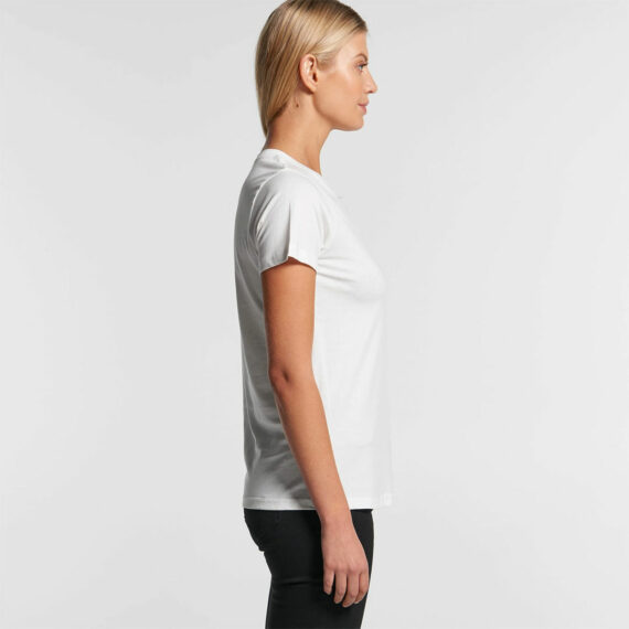 AS Colour 4001G Women's Maple Organic Tee Side View