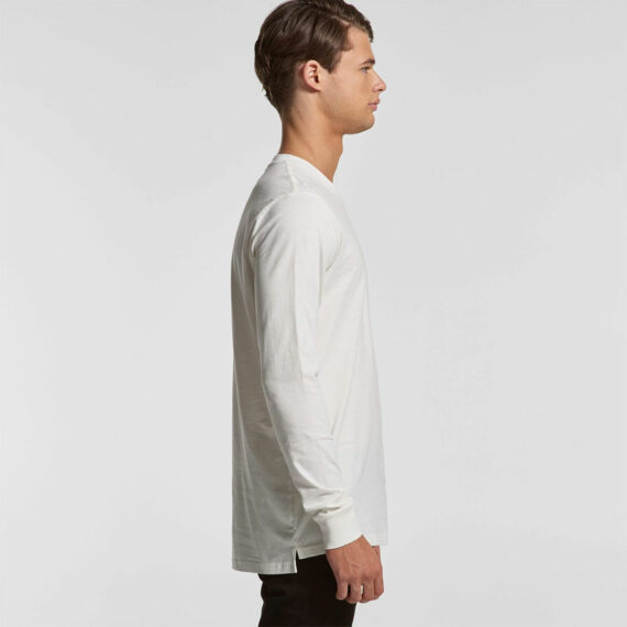 AS Colour 5029G Mens Base Organic Long Sleeve Tee Side