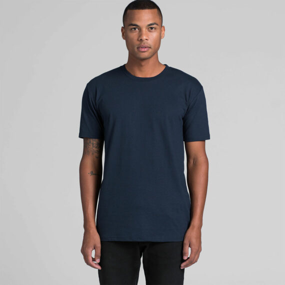 5001 AS Colour Mens Staple Tee Model Front