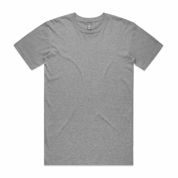 AS Colour 5001 Mens Staple Tee Athletic Heather Front