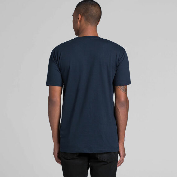 5001 – AS Colour Mens Staple Tee Back View of Model