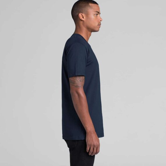 5001 AS Colour Mens Staple Tee Side View of Model