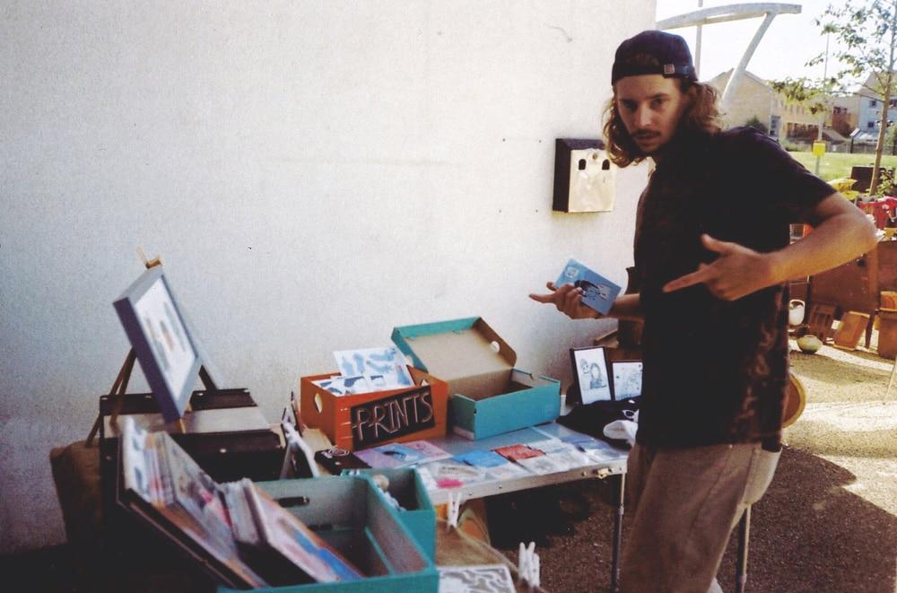 photo of artist benny brown