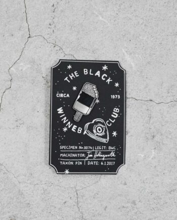 Black Winnebago Pins - Ice Lolly - Backing Card