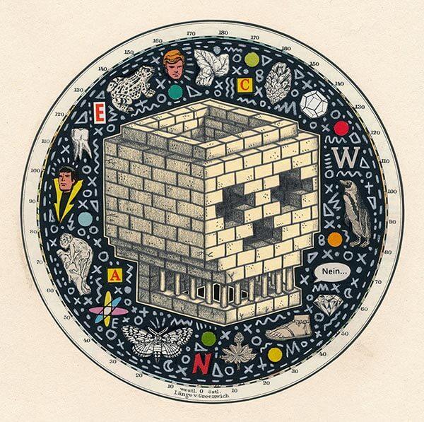 Brick Skull by Bene Rohlmann