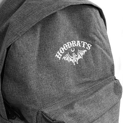 Embroidered Backpack Design by Hoodbats