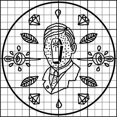 Ivo Matić Illustration - Embroidery Stitch Count