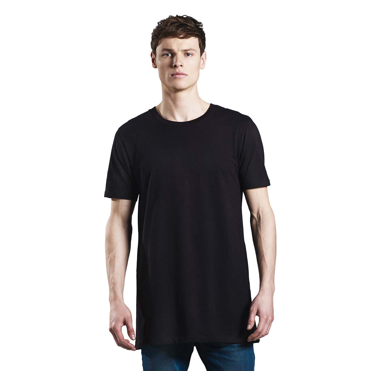 Earth Positive Men's Longline T Shirt