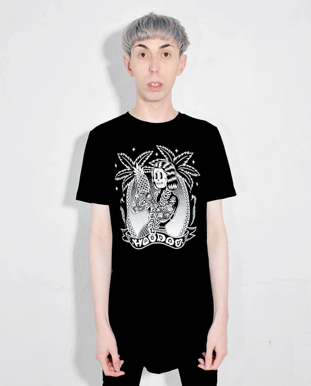 Hoodoo T Shirt Illustration Designed by Bene Rohlmann