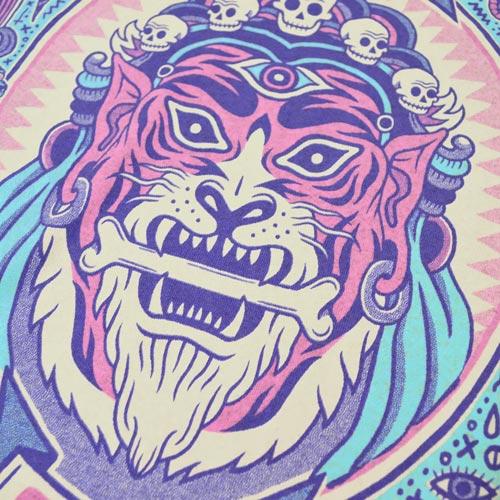 Hoodoo Tiger by Bene Rohlmann