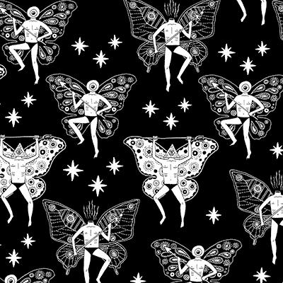 Fairies Illustration by Jim Hollingworth