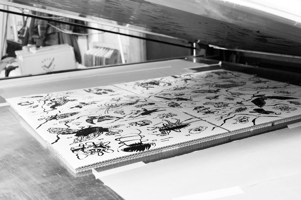 Printing john kilburn's box design