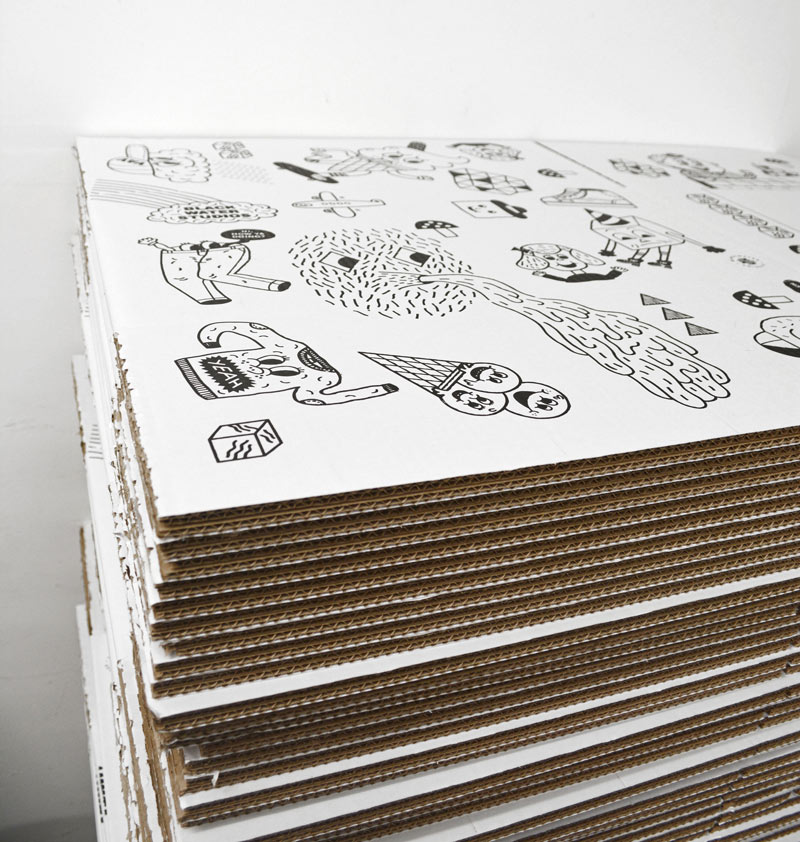 Jürg Lindenberger ss17 box design