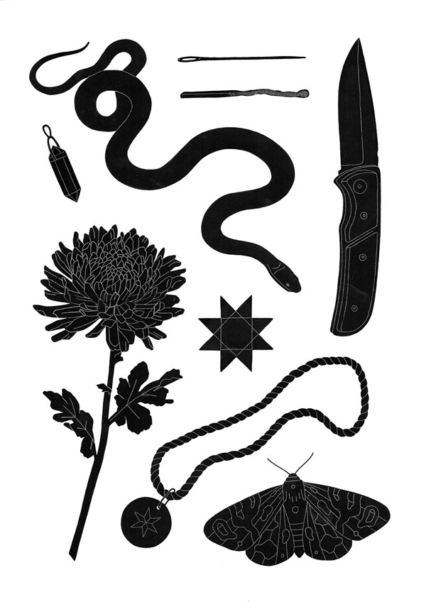 Objects Illustration by Maddy Young