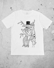 Merman Mugging Regular Cut T Shirt – Front – Designed by Michael C. Hsiung
