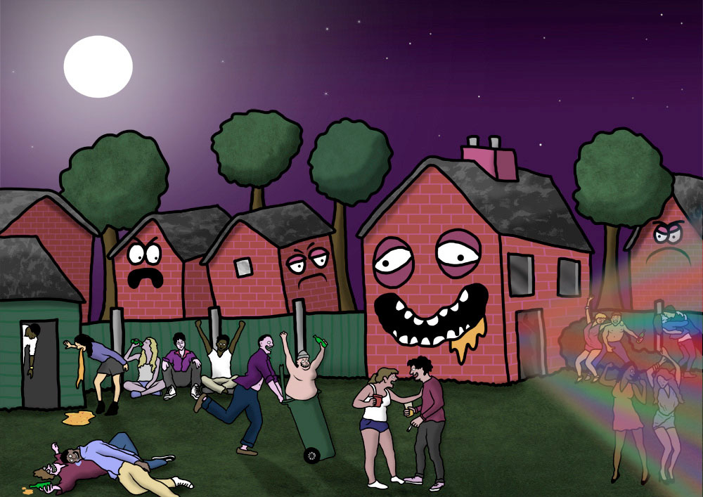 party house by benny brown