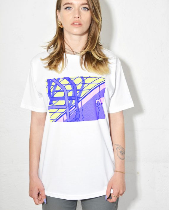 Poolside Sample T Shirt by Thomas Hedger