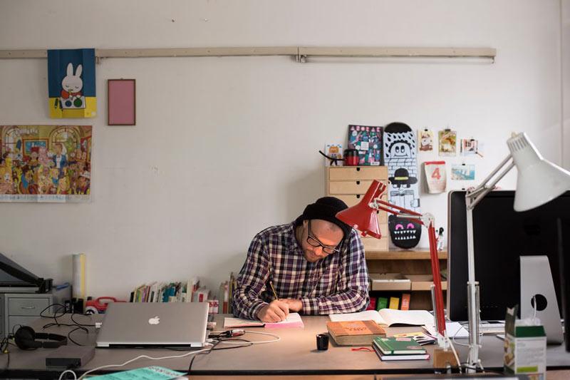 Jürg Lindenberger portrait photographed by Jake Green