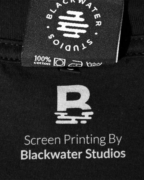 By Blackwater Studios Inside Neck Screen Print