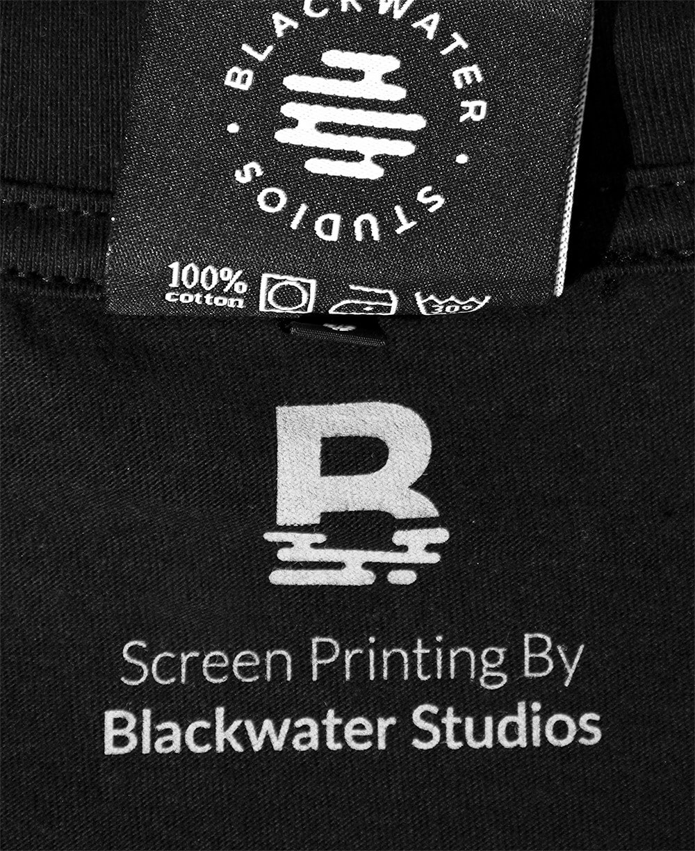 By Blackwater Studios Inside Neck Screen Print