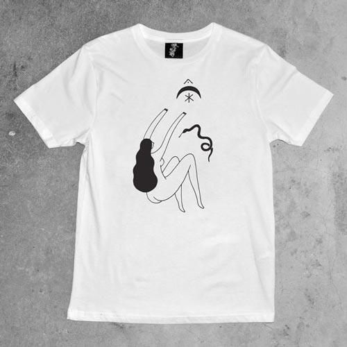 Serpiente Sample Screen Printed T Shirt