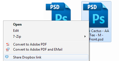 How to Share Dropbox Link From Desktop