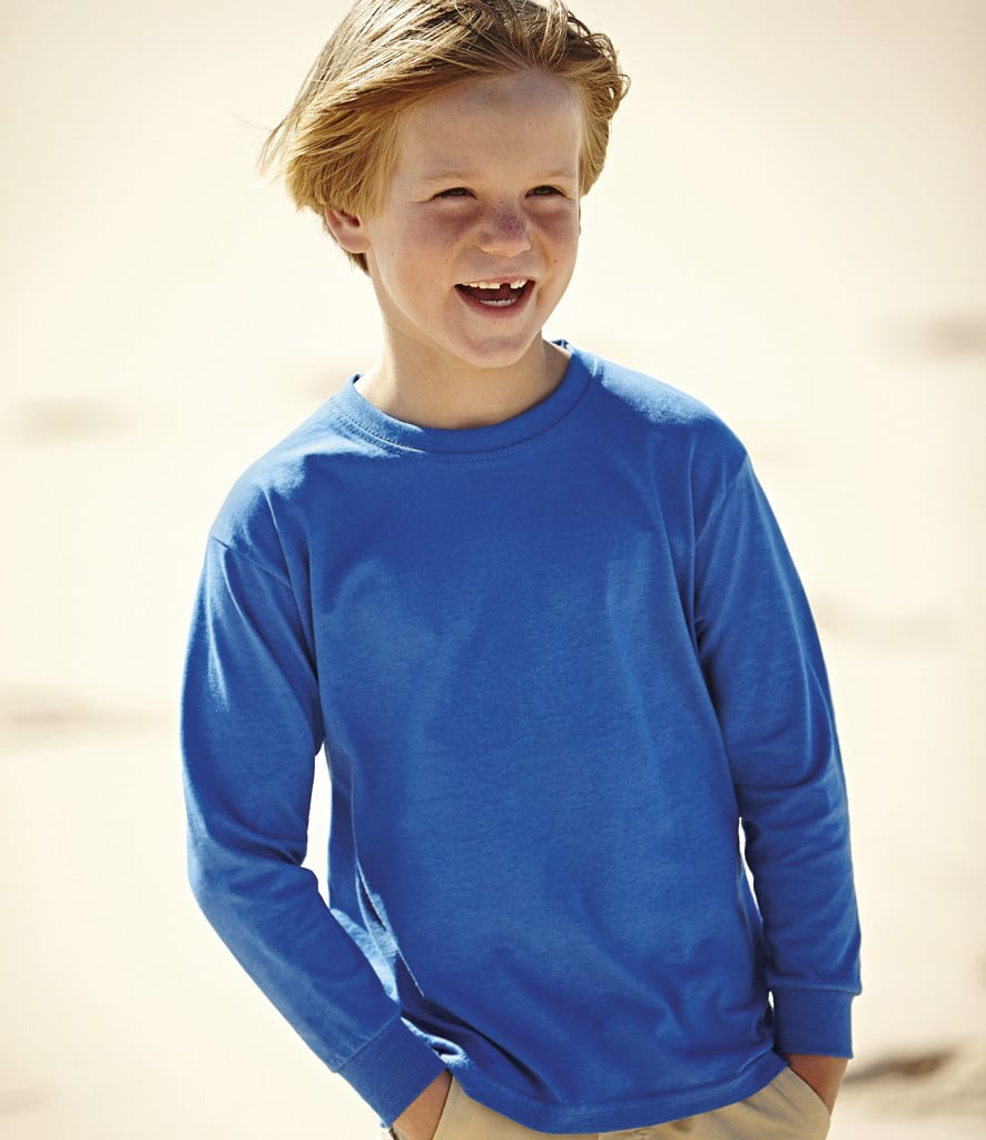 SS21B kids long sleeve T-shirt