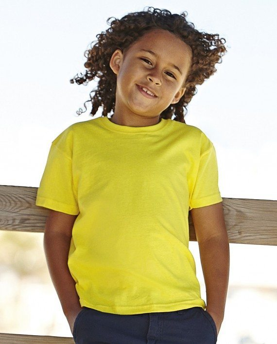 ss6b fruit of the loom value weight kids t-shirt