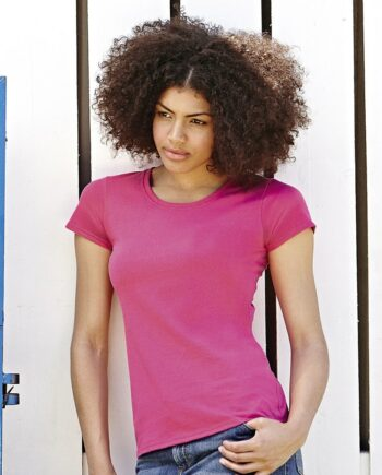 SS77 fruit of the loom ladies t-shirt