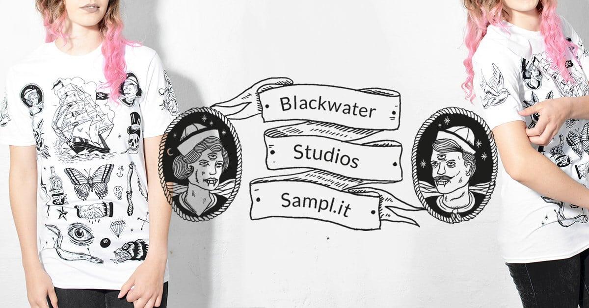 Buy sample screen prints sample store blackwater studios for Blackwater tattoo studio